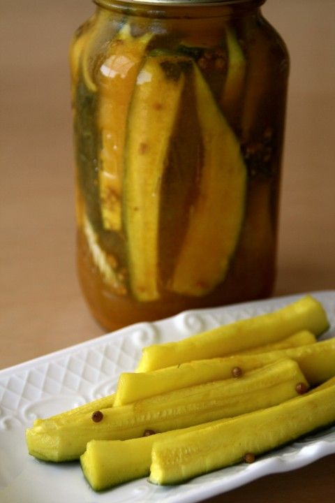Too many zucchini? Make easy Sweet Zucchini Refrigerator Pickles! Even zucchini haters will like these, which are ready in a few days. No canning, no muss, no fuss.