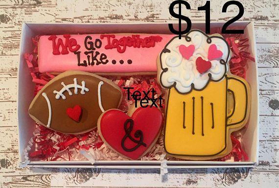 Valentines Sugar Cookies/ Decorated Sugar Cookies / sugar