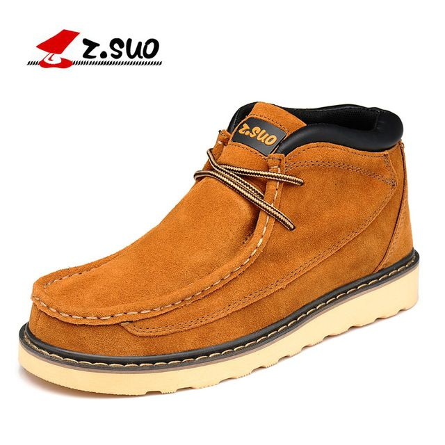 Buy now Z. Suo men 's shoes,plush leather shoes,both men and men leisure fashion shoes in fall and winter,zapatos de invierno zs020 just only $42.71 with free shipping worldwide  #menshoes Plese click on picture to see our special price for you