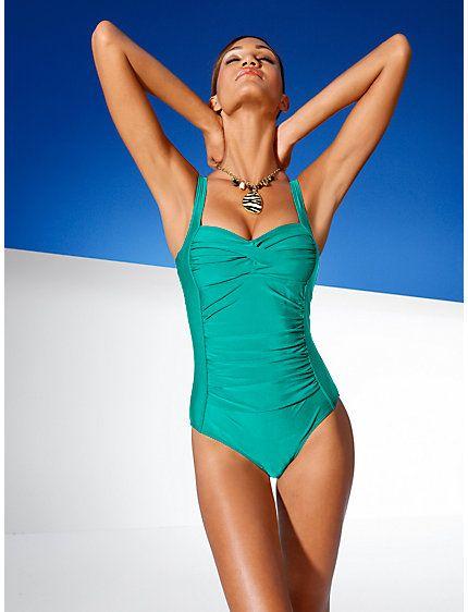 Class International Fx - Bodyform-Badeanzug schokobraun im Heine Online-Shop kaufen