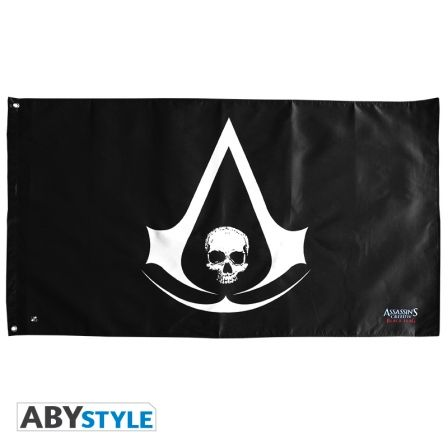 ASSASSIN'S CREED Drapeau Assassin's Creed Skull (70x120)