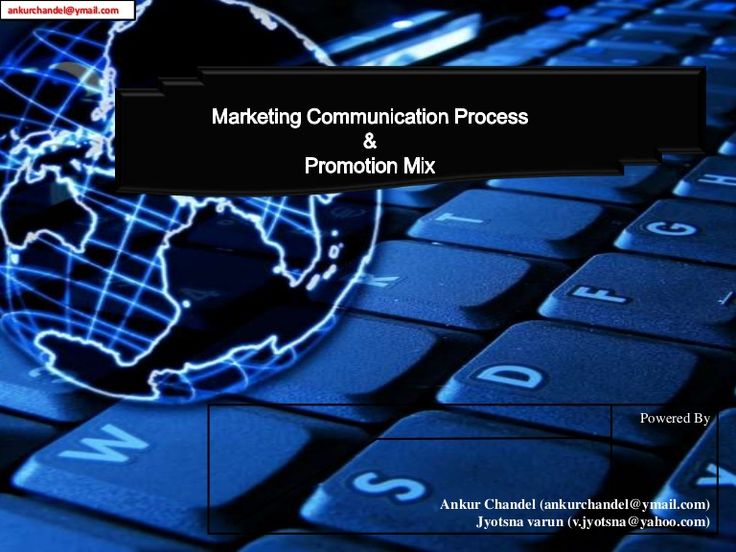 Presentation : Promotion Mix, Promotion Tool, Advertising, Direct marketing, Personal selling, Sales promotion, Sponsorship.