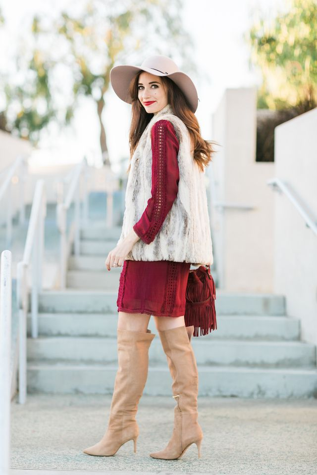 a bohemian fall outfit M Loves M waysify
