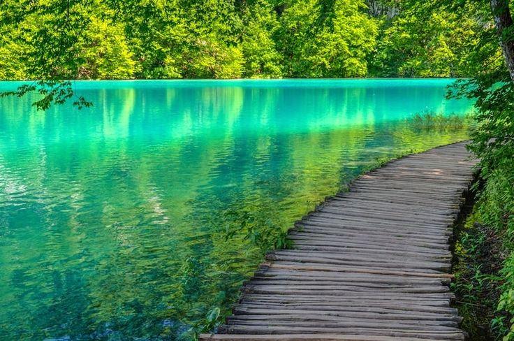 Les lacs de Plitvice en Croatie                                                                                                                                                      Plus