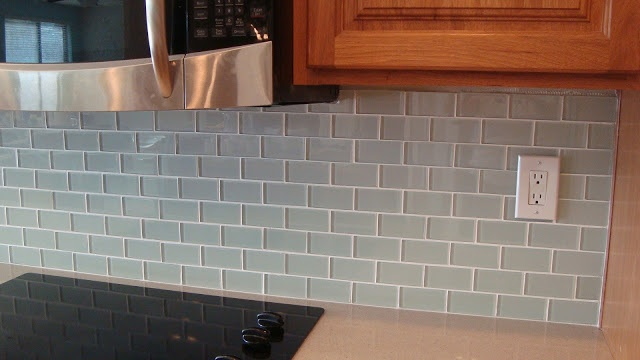 How To Glass Tile Backsplash Collection Photo Decorating Inspiration