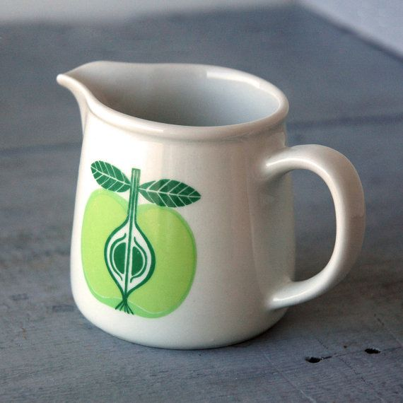 Arabia Apple Creamer