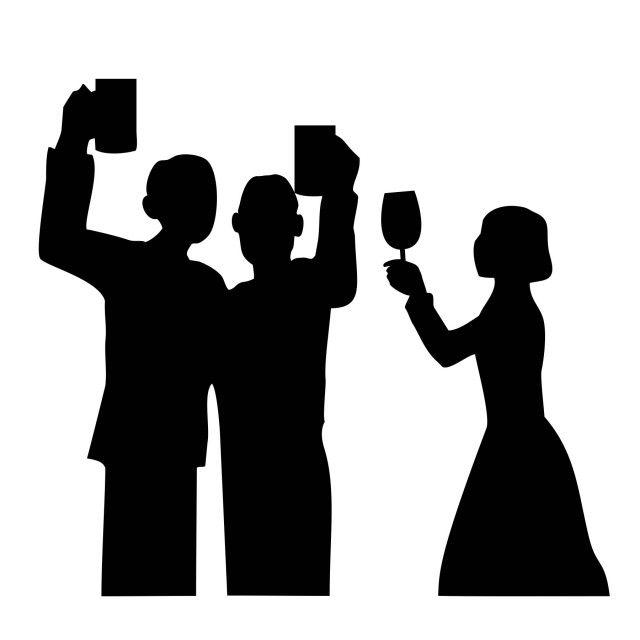 宴会 シルエット の画像検索結果 シルエット