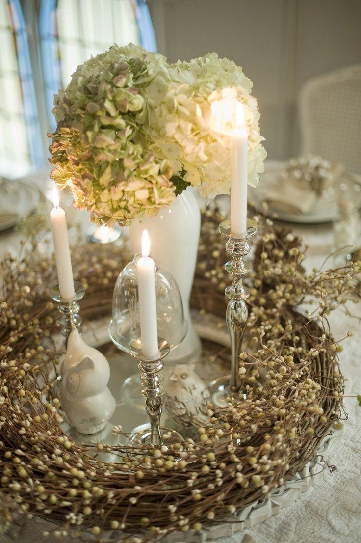 Toronto Winter Wedding Photo Shoot By Blynda DaCosta Photography. Winter  Table CenterpiecesFall ...