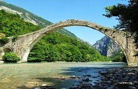 MAGAZINE-GR: Το γεφύρι της Πλάκας δεν έπεσε απ΄το νερό ! Έπεσε ...