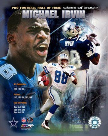 Michael Irvin, former Dallas Cowboy and NFL Hall of Famer, | #Dallas #Cowboys #DallasCowboys #NFL #NFC #FightToTheFinish #AmericasTeam #HallOfFame