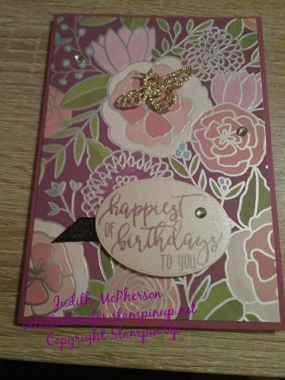 Sweet Soiree DSP from New Occasions  Catalogue available 3 January