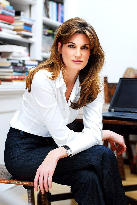 Jemima Goldsmith Khan, the blue-blooded daughter of billionaire Sir James Goldsmith and Lady Annabel Goldsmith. She's lived many lives in her 40 years--wife and mother in Pakistan; journalist/editor, fashion designer, humanitarian and philanthropist since her return to London.