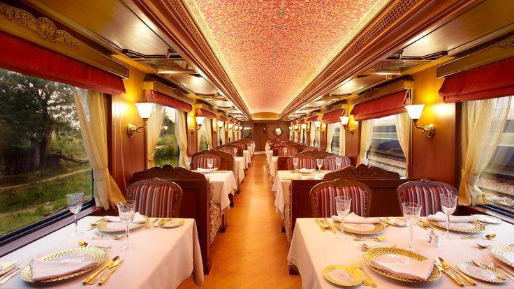 Maharajas' Express explorar a rica herança histórico da Índia passeio para descobrir uma experiência de trem de luxo inigualável de uma vida.  http://br.the-maharajas.com/maharajas-express-train.html