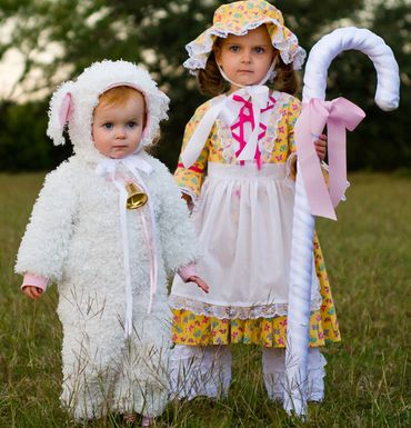 Mother Goose Nursery Rhyme Costume See More Diy Little Bo P And Sheep