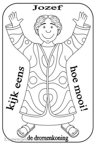afbeeldingsresultaat voor jozef en zijn jas kleurplaat