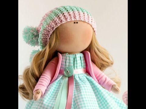 Текстильная кукла от Елены Гурылевой-подробнее по ссылкам