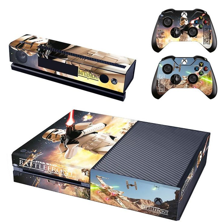 *NEW* Xbox One Skin Star Wars Features : - (2) Controller Skins - (1) Console Skin - (1) Kinect Skin