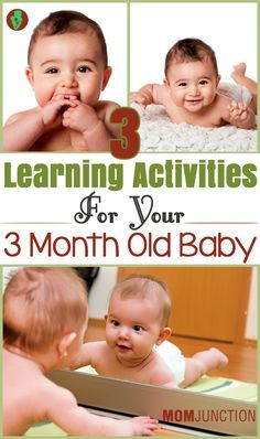 3 Learning Activities For Your 3 Month Old Baby