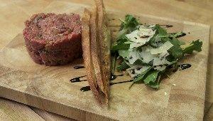 Tartare de bœuf «classique» par Thierry Baron