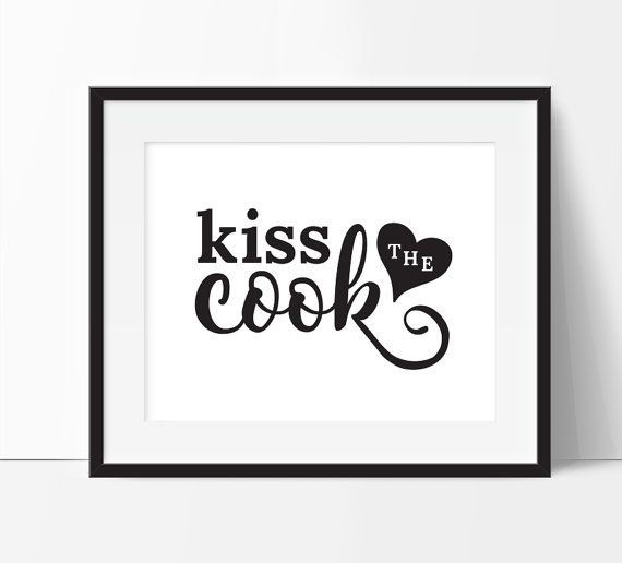 best 25 kiss the cook ideas on pinterest that party With kitchen colors with white cabinets with badass welding stickers