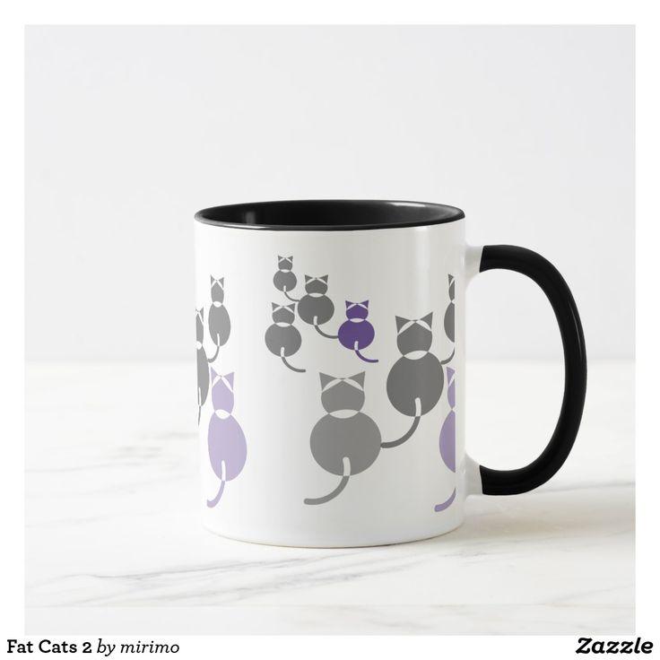 Fat Cats 2 Mug