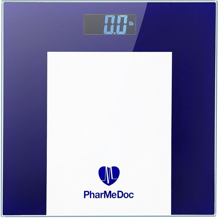 PharMeDoc Hi-Tech Digital Weight Scale  Precision Body Bathroom Scale