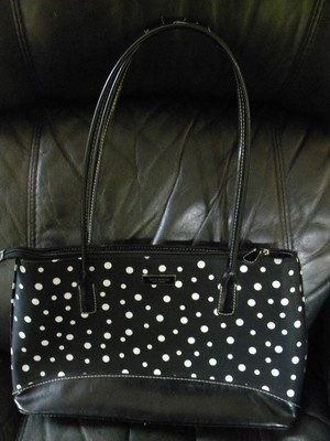 Kate Spade Hand Bag....cute for Spring/Summer!  Love the Polka Dots! $9.99