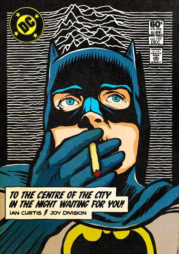 Ian Curtis / Batman | Superheroes | Pinterest