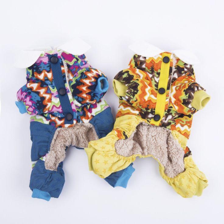 Dog clothes Designer Warm  Winter Jacket Pet Jumpsuit Apparel 2016 New Dog Coats Clothing Size to Small  Large Dog #Affiliate