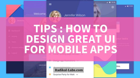 How To Create A Good Mobile App Design?