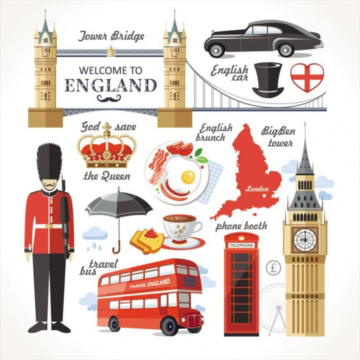 Travel Concept Country Landmark 02 F (Welcome To England)