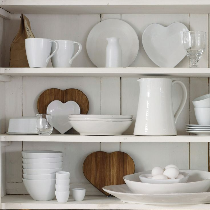 The White Company... Would love this look in my kitchen