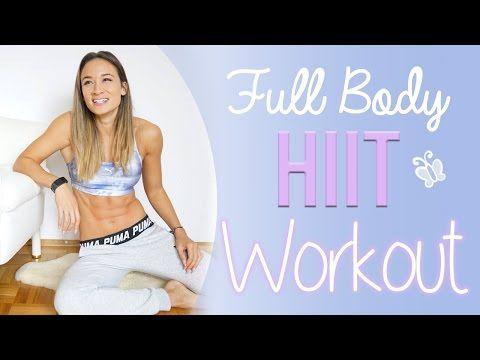 HIIT Workout für Zuhause – Kompletter Körper in 2 Blöcken trainieren – Full Body | BodyKiss