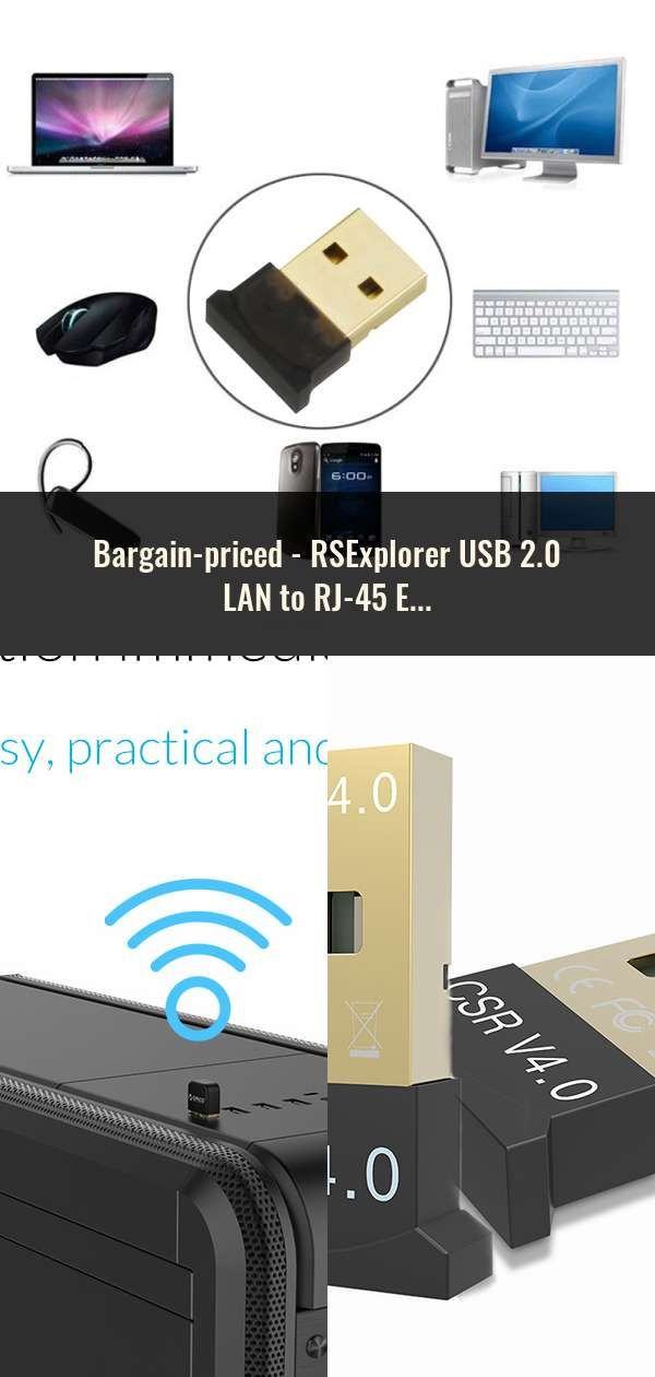 Rsexplorer Usb 2 0 Lan To Rj 45 Ethernet Network Card Adapter
