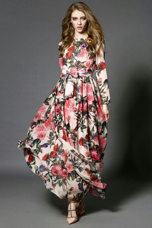 Cool Maxi Dress H6016