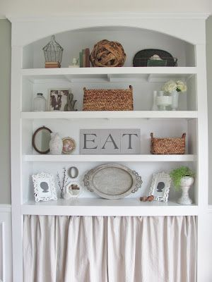 Dining Room Built-Ins styling