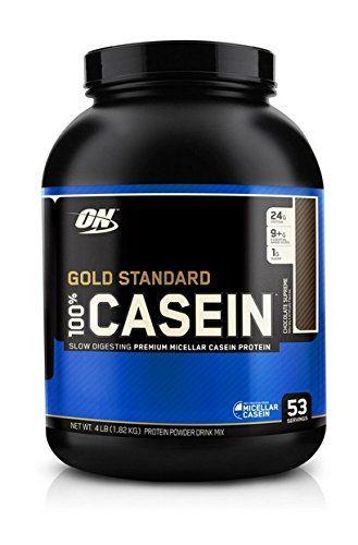 Optimum Nutrition Protéine 100% Caséine Gold Standard Chocolat Suprême 1,8 kg