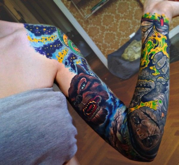 Story Sleeve Tattoo: 18 Best Images About Neverending Story Tats On Pinterest