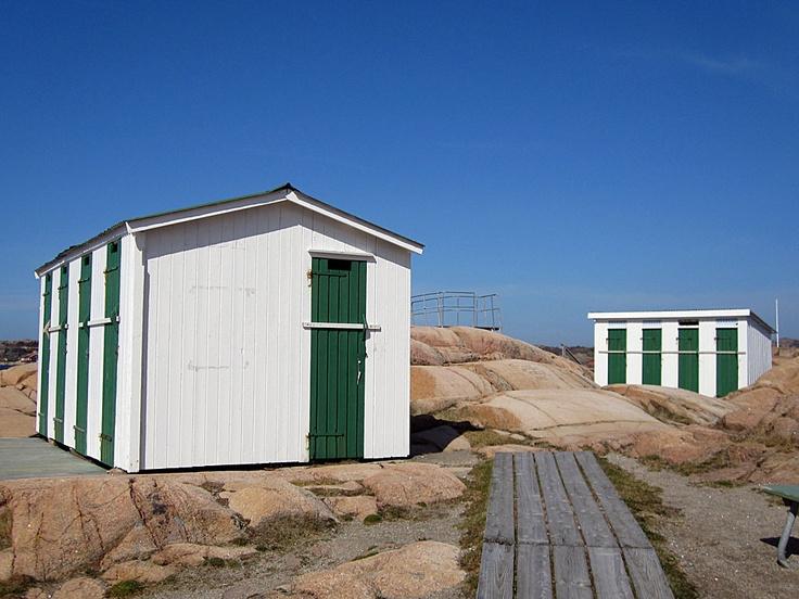 Badholmarna, closed for the season