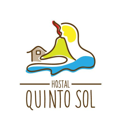 Hostal Quinto Sol ● Logo & Visual Identity by Karla Teceno, via Behance