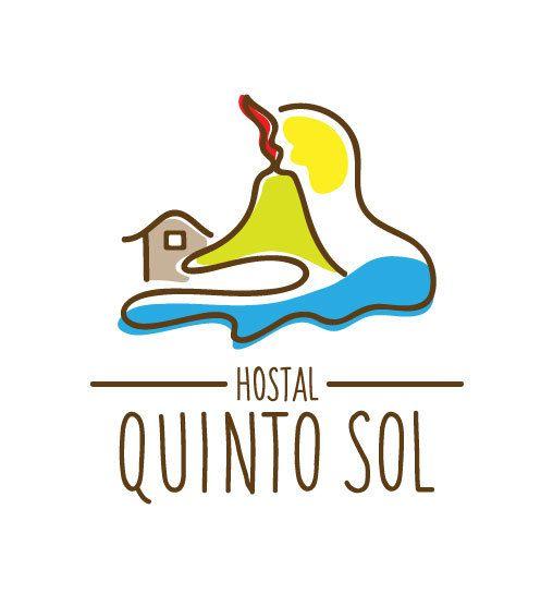 Hostal Quinto Sol ● Logo & Visual Identity by Karla Teceno, via Behance
