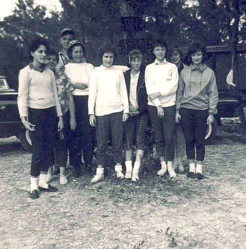 girl scout camp gs troop 218 jupiter florida 1960s