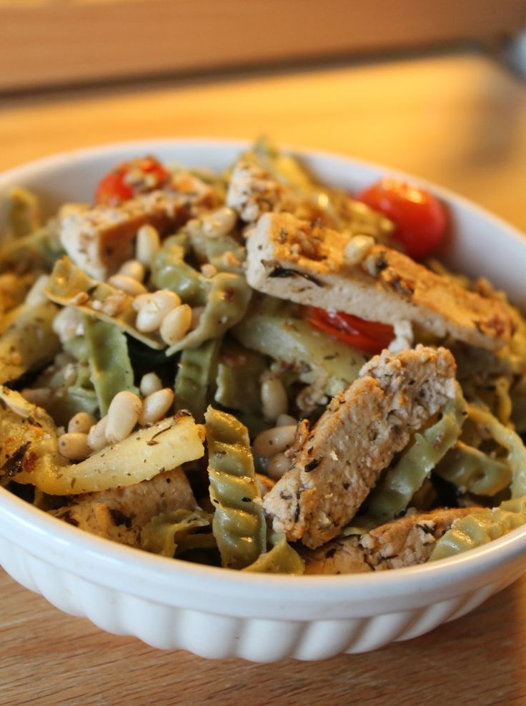 Tofu with mediterranean herbs and vegetables – The Chick on a Pea