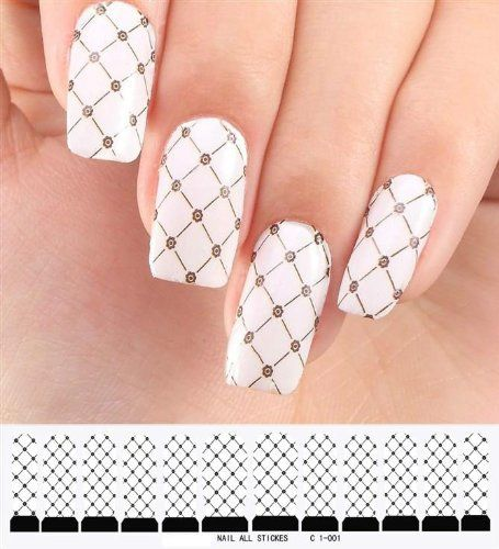 Aubig Stylish Thin Nail Art Polish Water Transfers False Nails stickers  Decals Foil (nail art - 10 Best Nail Art Polish Images On Pinterest Water Transfer, Foil
