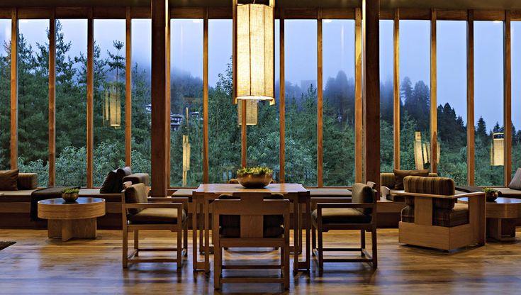 kerry hill architects / amankora, bhutan