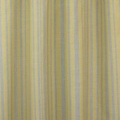 Tissu décor maison Nautique - Polo rayure - Jaune