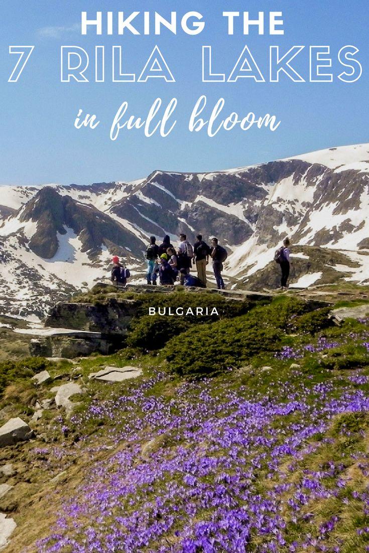 Hiking the 7 Rila Lakes in Full Bloom