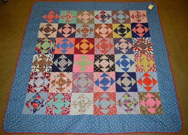 Montgomery County Pennsylvania 12 Triangles Quilt
