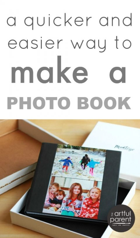 A quicker and easier way to make a photo book
