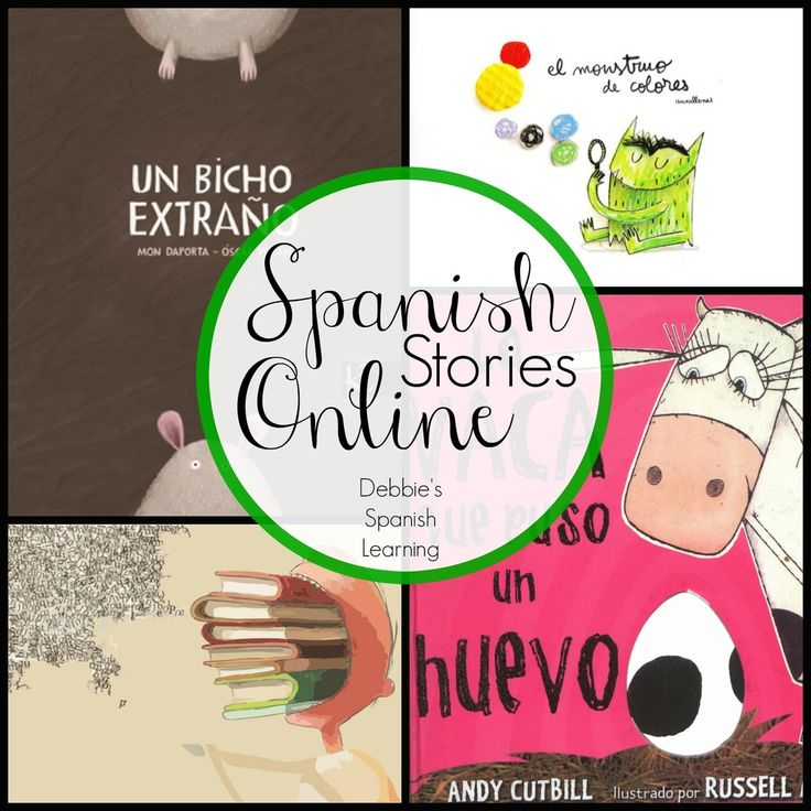 Debbie's Spanish Learning: Listen Online to Spanish Stories